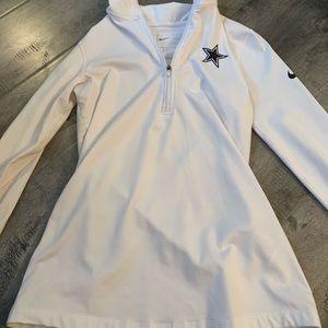 Dallas Cowboys half zip jacket